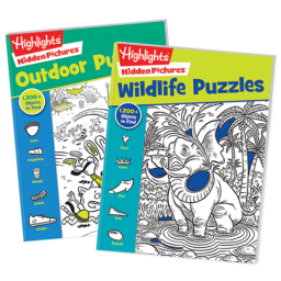 Hidden Pictures Favorites 2-Book Set: Wildlife and Outdoor