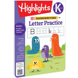 Handwriting Letter Practice Book
