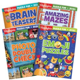 Puzzle Book Collection 2020