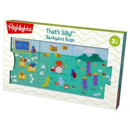 That's Silly Backyard Bugs Puzzle