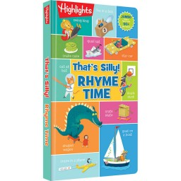 That's Silly Rhyme Time hardcover book