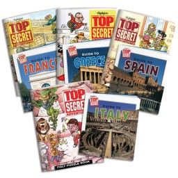 Top Secret Adventures: Travel Collection, includes 4 country kits