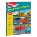 Things That Go Puzzles paperback book