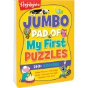 Jumbo Pad of My First Puzzles paperback book