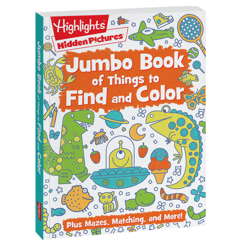 Jumbo Book of Things to Find and Color | Highlights for Children