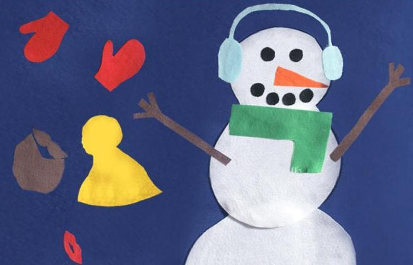 Encourage Your Child To Cut Out And Decorate A Variety Of Clothes For This Snowman